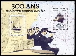 France 2020 - Neuf - Y&T N° F5398 - Feuillet 300 Ans D'hydrographie Française - Scanné Recto Verso - Nuevos