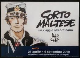 Corto Maltese Carte Postale - Bandes Dessinées