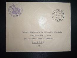 LETTRE MAIRIE OBL.7-10 1965 LA FERRIERE VENDEE (85) - Marcofilia (sobres)