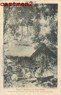 HAUT TONKIN Postes Et Blockhaus Poste De Partisans Thos Gardant Un Col ( Lung Tim) ASIE ASIA VIETNAM INDOCHINE - Viêt-Nam