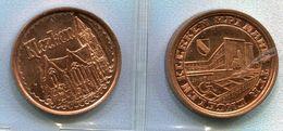 1981 Klerken - 100 Engelen -  - Token - Penning - - Nr 103 Rood Koper Gepl. St. - Jetons De Communes