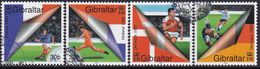 GIBRALTAR 2000 SG #907-11 Compl.set + 2 M/s Used European Football Championship - Gibraltar