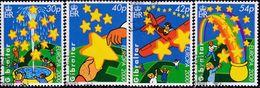 GIBRALTAR 2000 SG #912-15 Compl.set Used Europa - Gibraltar