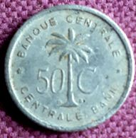 BELGISCH CONGO/RUANDA-URUNDI :  50 CENTIMES 1954 Km 2 - Congo (Belgian) & Ruanda-Urundi