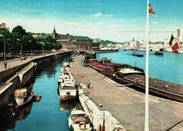 Liege. Le Port Et La Meuse - Liege