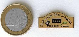 Pin's MICHELIN Course Cycliste TOUR DU CANTON 1992 Fabricant Inconnu - Autres