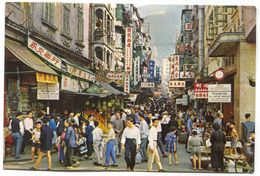 STREET SCENE OF HONG KONG, CHINA - Chine (Hong Kong)