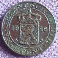 NEDERLANDS INDIË. : 1/2 CENT 1945 P KM 314.2 Alm.UNC - [ 4] Colonie