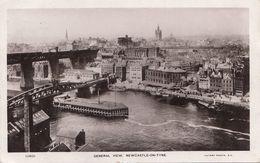 NEWCASTLE ON TYNE - General View, Karte Gel. 1909 - Otros