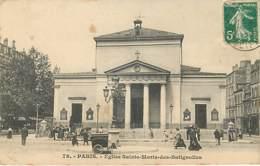PARIS - EGLISE SAINTE MARIE DES BATIGNOLLES - 78 - Voiture à Chien Boulangerie (chien Au Repos) - En état - Paris (17)