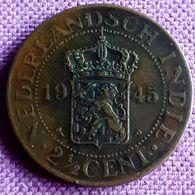 NEDERLANDS INDIË. :2 1/2 CENT 1945 P KM 316 UNC - [ 4] Colonie