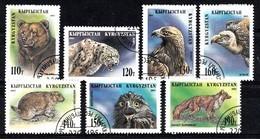 Kirgisien 1995 Mi.nr: 54-60 Einheimische Fauna  Oblitérés / Used / Gestempeld - Stamps