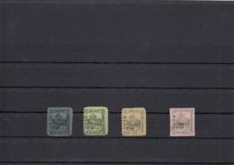 Romania Briefmarken Stamps DBSR Railroad Local Stamps 1867 - Romania