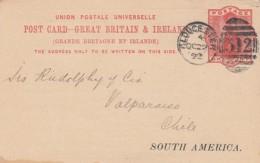 GB England Privat Postcard 1892 - 1840-1901 (Regina Victoria)