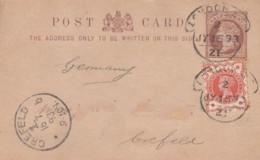 GB England Privat Postcard 1893 - 1840-1901 (Regina Victoria)