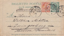 Italy Lettercard 1914 - Marcofilie