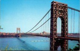 New York City George Washington Bridge - Ponts & Tunnels
