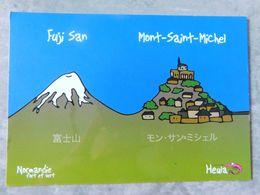 Heula , Normandie Fort Et Vert , Humour Régionaliste , Mont Saint Michel - Humour