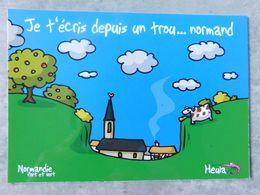 Heula , Normandie Fort Et Vert , Humour Régionaliste , - Humour