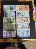 10 BEAUTIFUL BANKNOTES VARIOUS CONTRIES - Banknoten