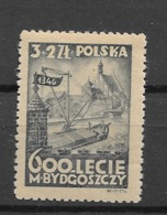 1946 MNH Poland Mi 435 - 1944-.... Republik