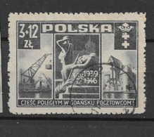 1946 USED Poland Mi 444 - Usati