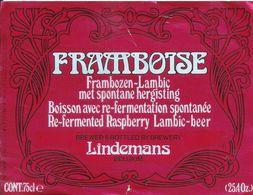 FRAMBOISE - LINDEMANS - Beer