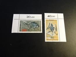 K32625 - Set With Tabs MNh Germany - Deutschland   1978 - SC. 1275-1276 - Archeological Heritage - Fossils - Archäologie