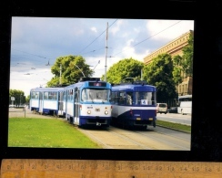 RIGA Lettonie : Tramway Tram Line 4 - Latvia