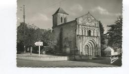 CPSM PF - SAINT CESAIRE - Eglise De St Cézaire - 2 Scans - TTBE - Gilbert - Autres Communes