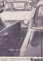 (pagine-pages)PUBBLICITA' OPEL KADETT   Gente1964/17. - Books, Magazines, Comics