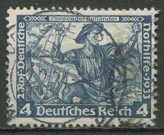 Deutsches Reich 1933 Deutsche Nothilfe Wagner 500 A Gestempelt - Gebraucht