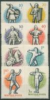 Ungarn 1959 Sport Fechten WM In Budapest 1601/08 A Postfrisch - Nuevos