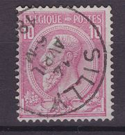 N° 46 Défauts SILLY  COBA +8.00 - 1884-1891 Leopoldo II