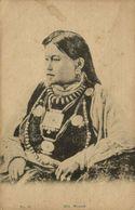 Tibet Thibet, Hill Woman, Jewelry Necklace (1910s) Postcard - Tibet