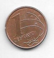 *brazil 1 Centavo  2004  Km 647  Unc - Brasilien