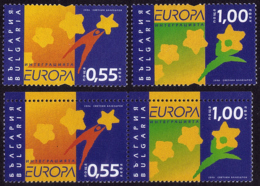 Bulgarie - Europa CEPT 2006 - Yvert Nr. 4094/4095 + A - Michel Nr. 4747/4748 A/C  ** - 2006