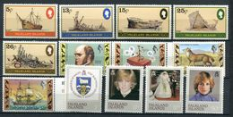 FALKLAND -  N° 339 A 351 - * * - LUXE - Falkland Islands