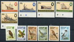 FALKLAND -  N° 339 A 343 & 370 A 375 - TOUS * * - LUXE - Falkland Islands