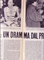 (pagine-pages)FRANK SINATRA(scrive O.FALLACI)    L'europeo1957/595. - Books, Magazines, Comics