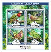 SOLOMON Isl. 2017 - Rare Birds, Parrot - YT 3881-4, CV=19 € - Parrots