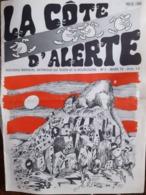 Revue Satirique Sur Dijon Et La Bougogne La Cote D'alerte   N° 2 Mars 72 - Humor