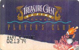 Treasure Chest Casino Kenner, LA - Slot Card - Cartes De Casino