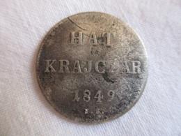Hungary 6 Krajczar 1849 - Hungría