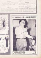 (pagine-pages)PUBBLICITA' CARPANO(+ALIGI SASSU)   L'europeo1956/543. - Books, Magazines, Comics