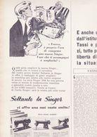 (pagine-pages)PUBBLICITA' SINGER   L'europeo1956/543. - Books, Magazines, Comics