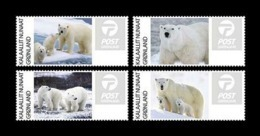 Greenland 2019 Mih. A25/A28 Fauna. Polar Bears MNH ** - Unused Stamps
