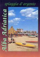 Alba Adriatica - Teramo - Spiaggia D'argento - Formato Grande Viaggiata – E 16 - Teramo