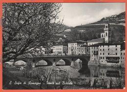 ITALIA - ITALY - ITALIE - 1958 - 20 Siracusana - Santa Sofia Di Romagna - Ponte Sul Bidente - Viaggiata Da Santa Sofia P - Autres Villes
