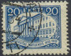 Estland, Mi.Nr 97 Gestempelt, Universität Dorpat Universias Tartuensis, 20 Senti - Estonia